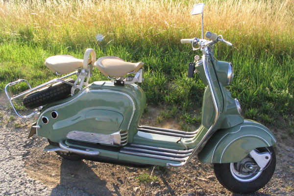 Nsu Lambretta 150 1955
